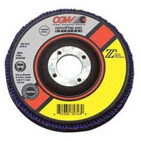 "CGW 30044 3"" T27 Ceramic Roll On 80 Grit"