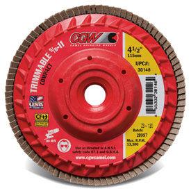 CGW 30205 4-1/2 x 5/8-11 C3-80G Compact-Trim Ceramic w/Hub