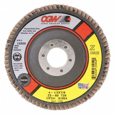 CGW 31015 4-1/2 x 7/8 T27 ZS Reg 80G