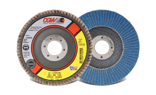 CGW 31054 4-1/2 x 7/8 T29 ZS Reg 60G