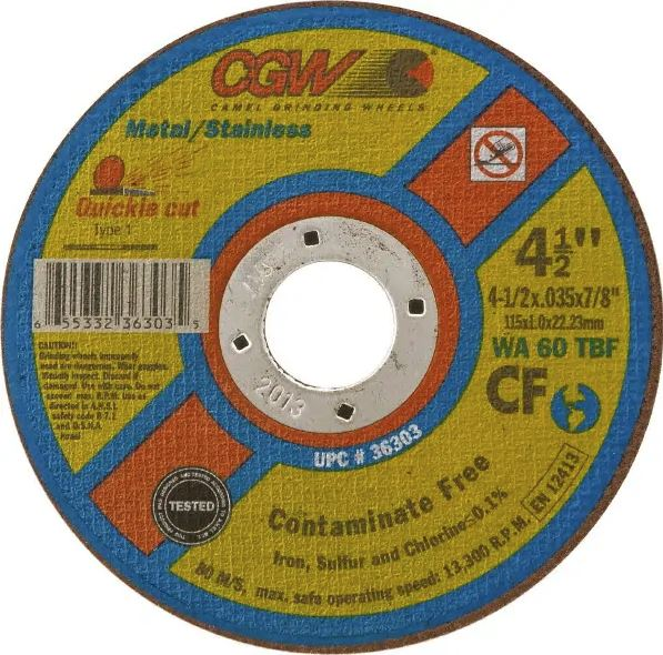 153 Units Aluminum Oxide 12000 RPM 2 in Disc Dia Non-Woven Finishing Disc