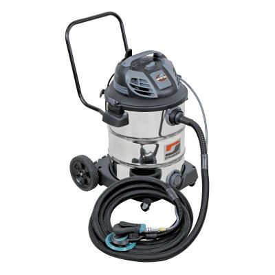Dynabrade 10051 Mini Raptor Vac, Standard-Pack, Mobile Industrial Vacuum System Wet/Dry Collection, 16 Gallon, 120v, Made in USA (Vacuum,Dolly/Handle, Tool, Hose)