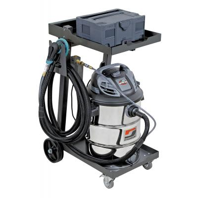 Dynabrade 10059 Mini Raptor Vac, Pro-Pack, Mobile Vacuum System, Dynorbital-Extreme VHS  Wet/Dry Collection, 16 Gallon, 120v, 6.5HP, Mclass: Made in USA