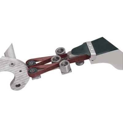"""Dynabrade 11234 Contact Arm Ass'y, 1"""" Dia. x 3/8"""" W, Rubber Wheel, with no Platen For 1/2"""" (13 mm) W x 34"""" (864 mm) L Belts"""