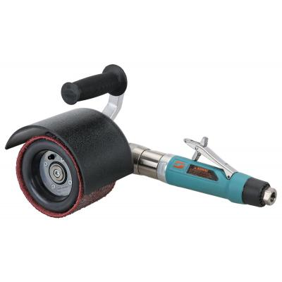 """Dynabrade 13450 Dynisher Finishing Tool 1 hp, Right Angle, 2,800 RPM, Rear Exhaust, 3/4"""" (19 mm) Dia. Arbor"""