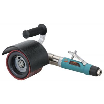 """Dynabrade 13460 Dynisher Finishing Tool Versatility Kit 1 hp, Right Angle, 2,800 RPM, Rear Exhaust, 3/4"""" (19 mm) Dia. Arbor"""