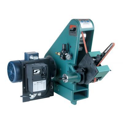 "Dynabrade 64900 Variable Speed Versatility Grinder 1 hp, 115 V (AC), 1 Phase, 50/60 Hz, 600-4,000 SFPM, for 1/4""-2"" W x 72"" L (6-51 mm x 122 cm) Belts"