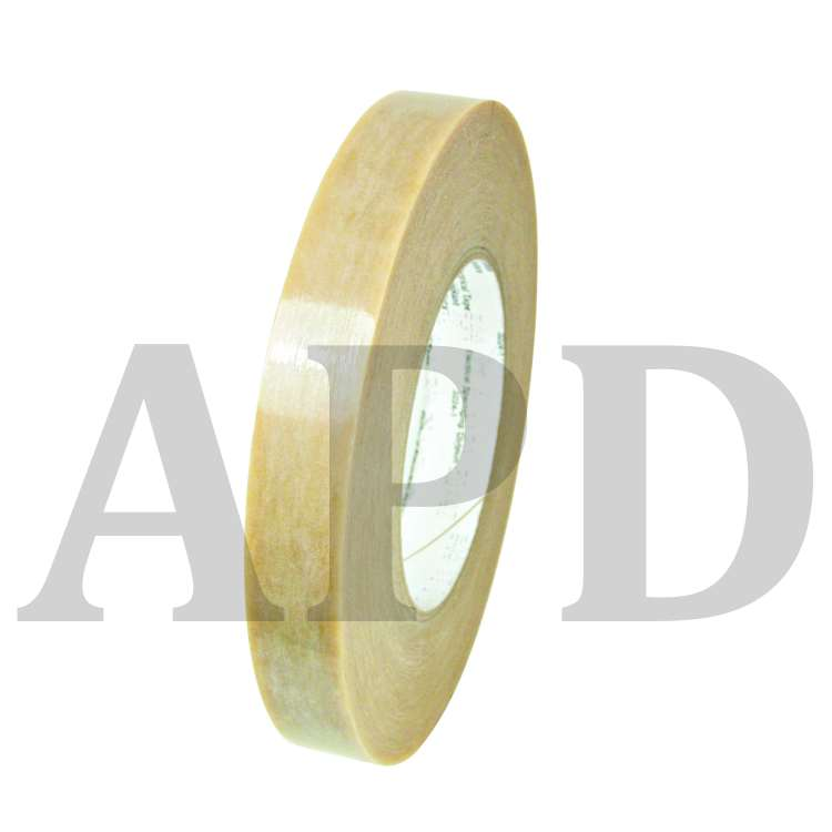 3M Polyester Film Electrical Tape 54, 3/4 in x 72 yd, Clear