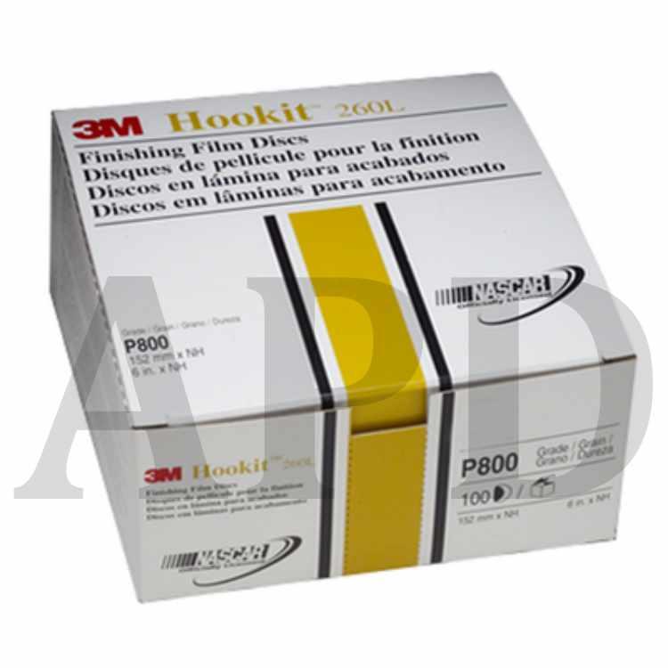 3M 00971 Hookit 6 P600 Grit Finishing Film Disc