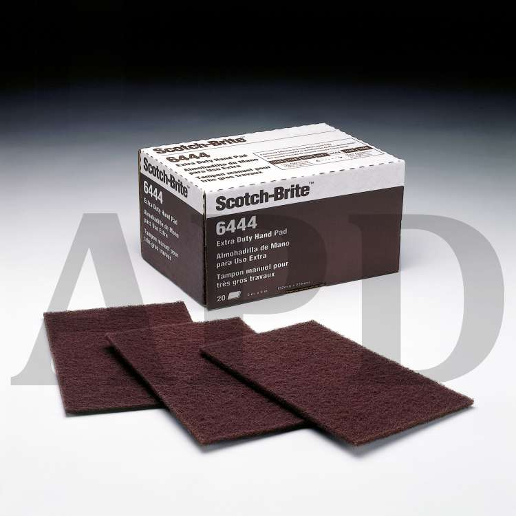 3M 7415NA Hand Sanding Wood Finishing Pad Gray 4.375 in by 11 in Fine