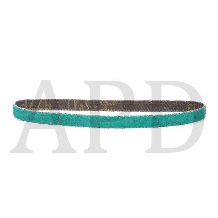 3m 3M-31801 Green Corps Abrasive File Belt 20 Belts Per Box 1//2 In X 18 In 36