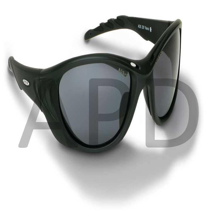 3M 11654-00000-10 Fuel™ 2 Safety Glasses With Black Frame And Gray Anti-Fog
