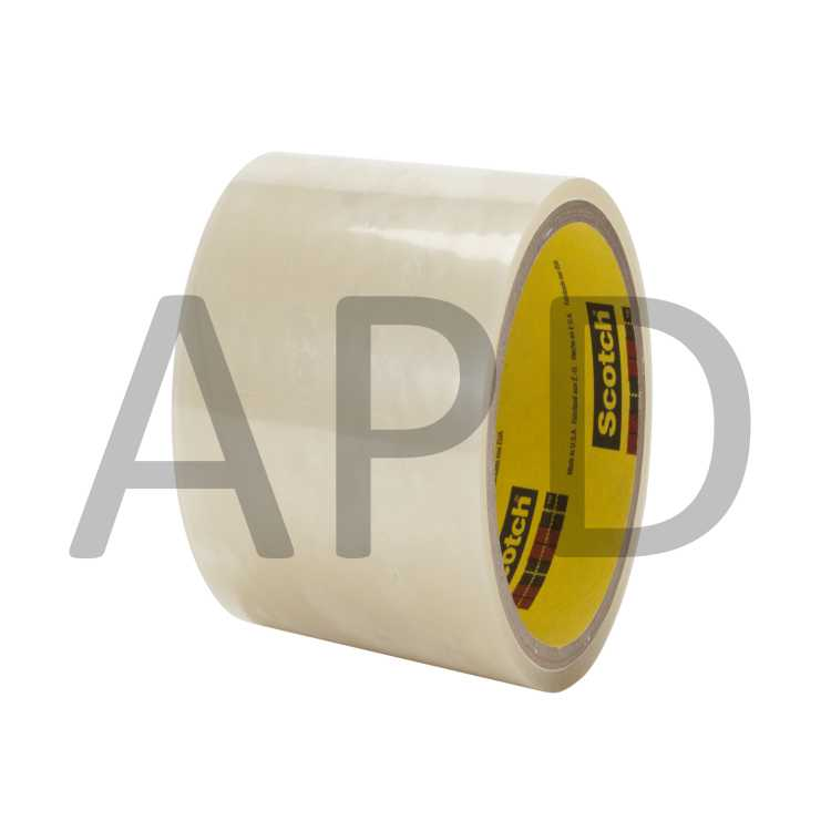 3//4 in x 18 yd 12 Rolls 3M Scotch® ATG Adhesive Transfer Tape 969 5 mil Clear