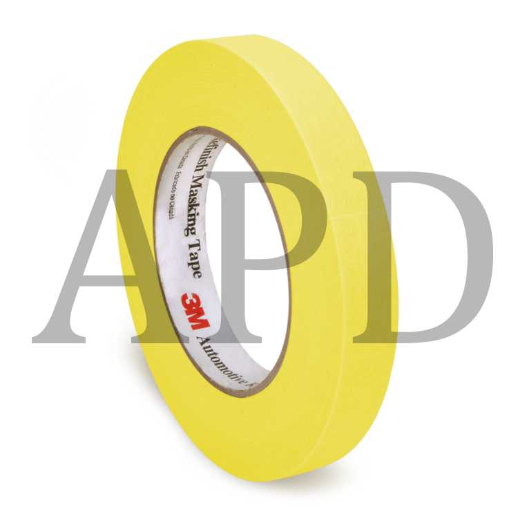3m yellow automotive masking tape