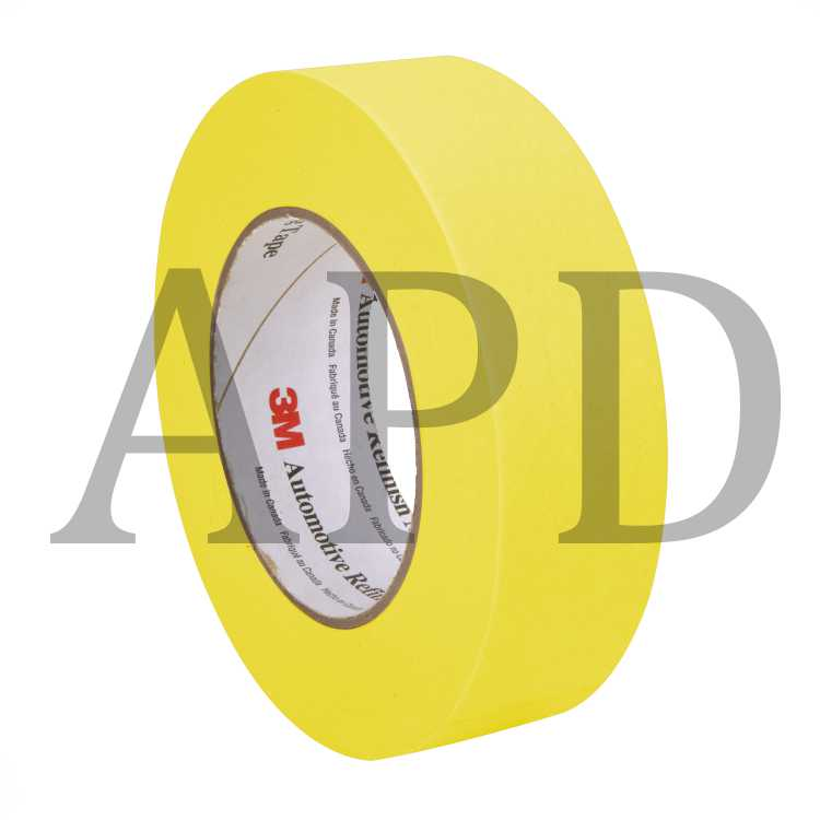 3m 06654 refinish masking tape 36 mm x 55 m