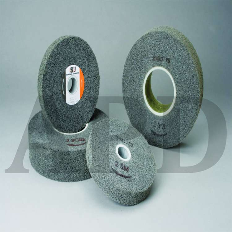 Standard Abrasives Buff and Blend Combi-Wheel 898004 10//Inner 100//Case 3 in x 1 in x 1//4 in A MED 60 1 Case