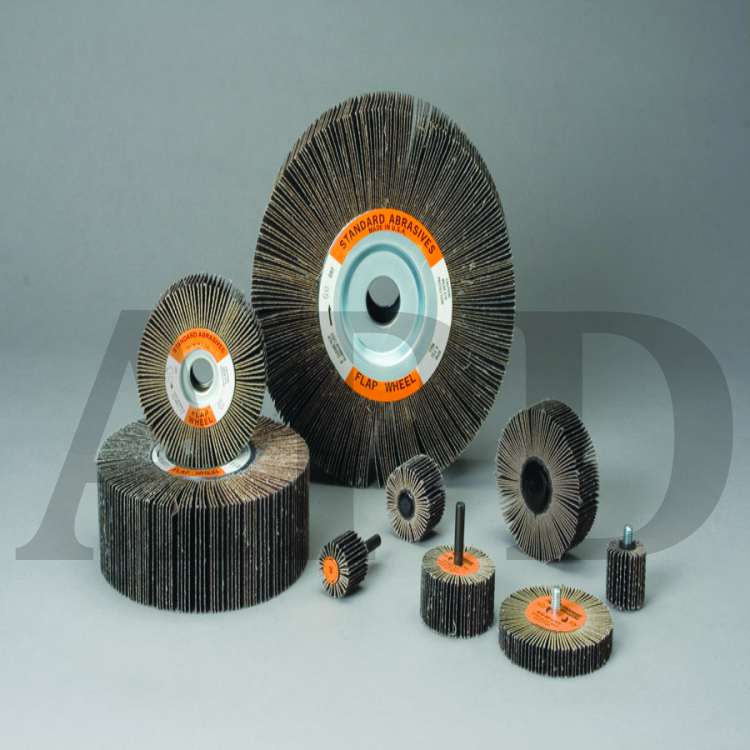 3//Case 1 Case Standard Abrasives A//O HD Unitized Wheel 863178 631 6 in x 1 in x 1 in