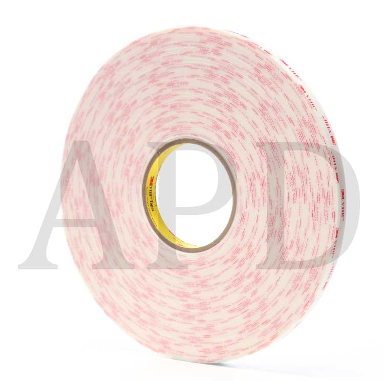 "1 Roll 3M Vhb Tape 4618 White 1/"" X 72 Yd 25.0 Mil"
