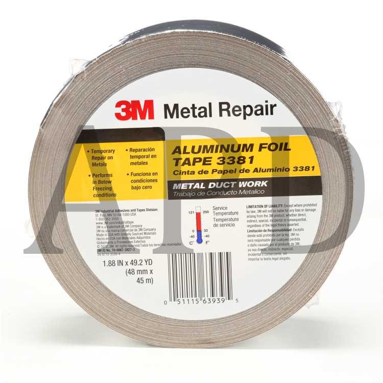 3M cinta de aluminio 425 x 50mm 55m