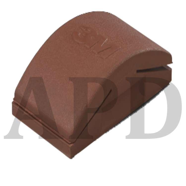 60 Grit Aluminum Oxide A 3//8 Diameter x 5//8 Length Pack of 50 PFERD 46044 Policap Abrasive Cap Shape C