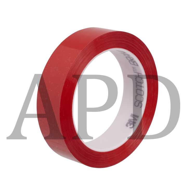 3M 7000047520 Polyester Film Tape 850 Silver, 1/2 in x 72 yd