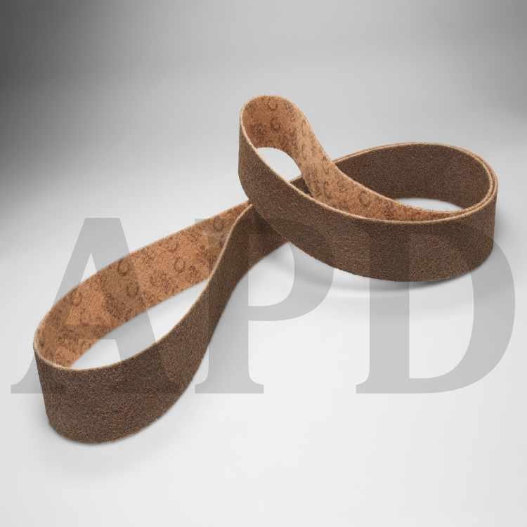 """Maroon - 1 Belt 2/"""" x 72/""""  3M Surface Conditioning Belt Medium grade"""