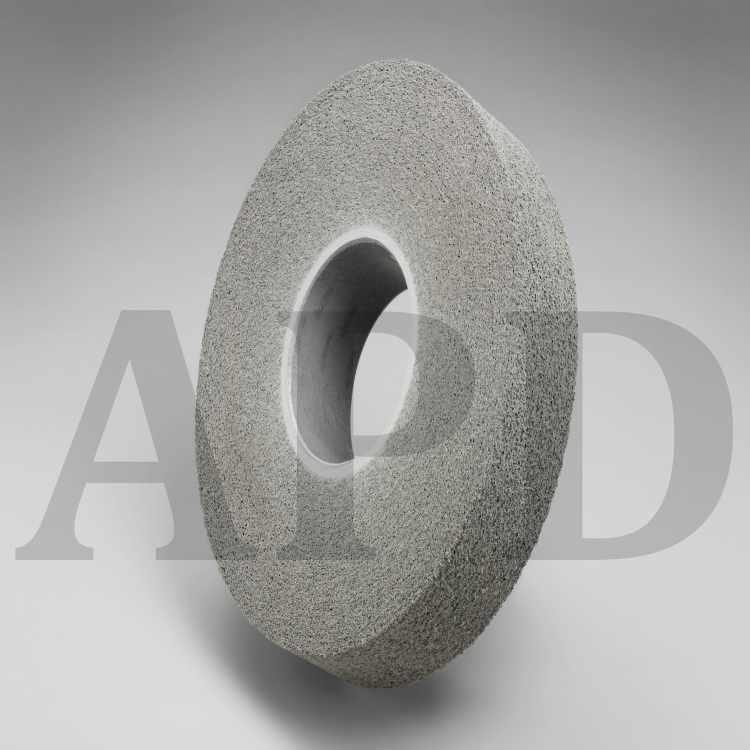 1 per case 4 in x 3//8 in x 1-1//4 in 10 Micron 3M Trizact Diamond Polishing Wheel 685DC 1A8