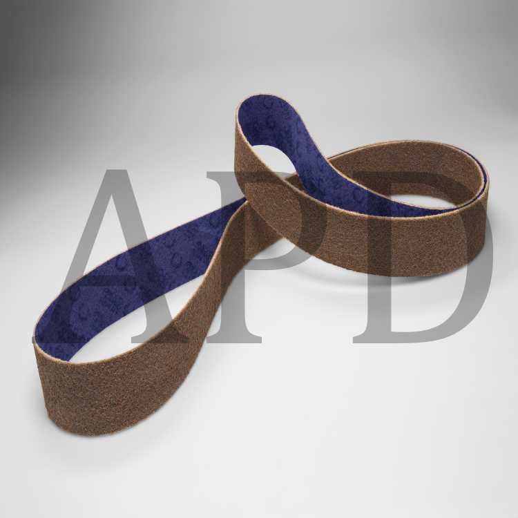 10 per case 1//2 in x 12 in VFN Standard Abrasives Surface Conditioning RC Belt 888081