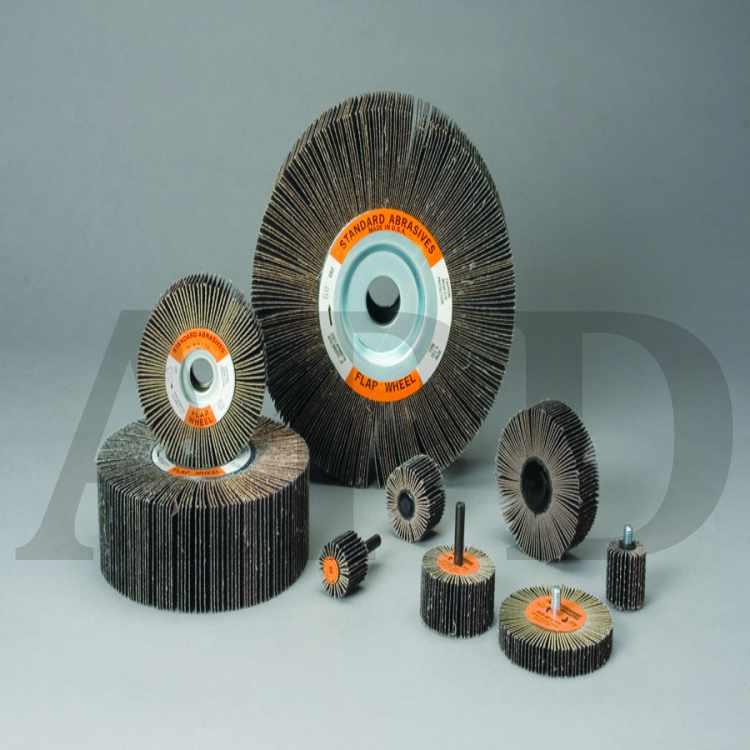 731 5 in x 1//4 in x 1//4 in 3M Standard Abrasives A//O Unitized Wheel 890398