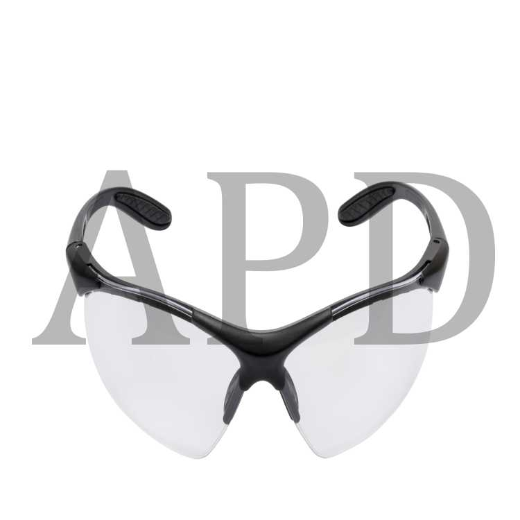 3M SS1428AS-S 1400 Safety Glasses Silver Frame And Mirror Scratch-Resistant