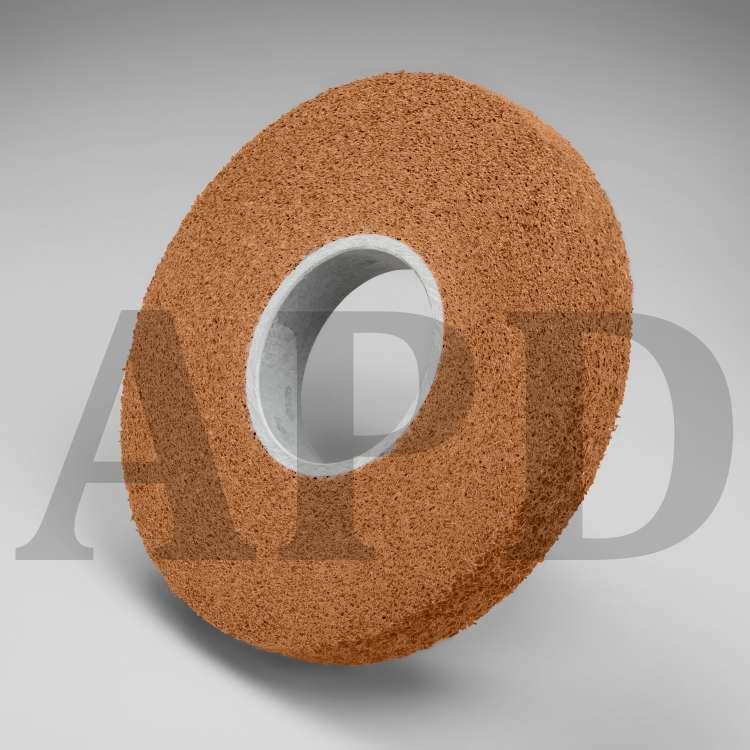 3M Cloth RX Slashed Segment 341D 3 in x 3 in 80 X-Weight 12 per case