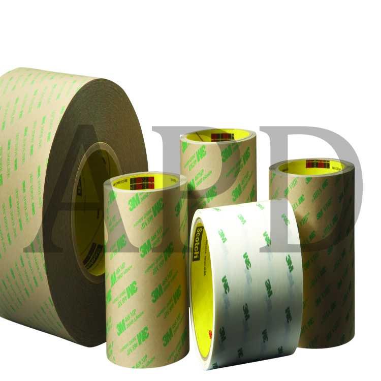 Pack of 5 3M 9495LE 5-9495LE-1.5 Adhesive Transfer Tape 1.5 Diameter Circle