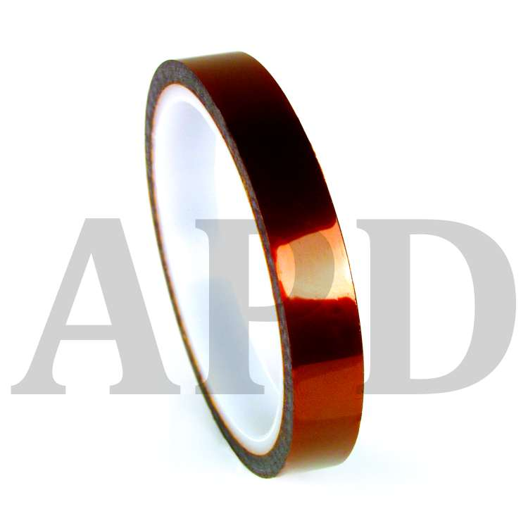3M 1205 Film Tape,Polyimide,Amber,1 In x 36 Yd.
