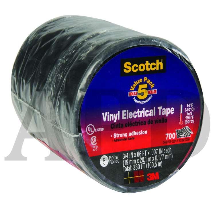 "3M 33 Vinyl Electrical Tape 3//4/"" x 66ft"