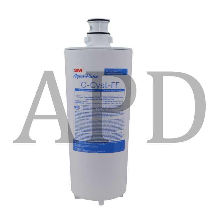Aqua-Pure C-CYST-FF Undersink Filter Replacement Cartridge