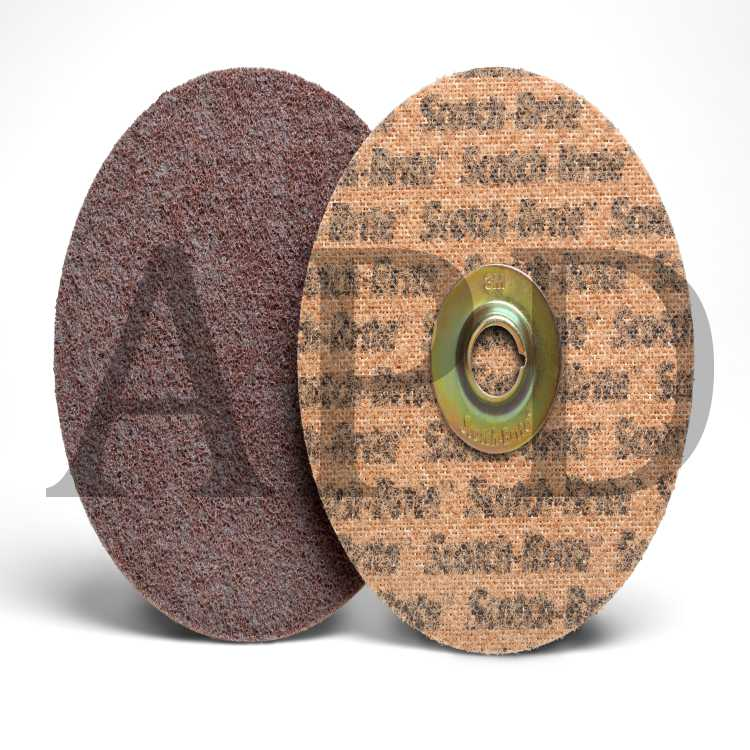 1-1//2 in 80 3M Standard Abrasives Quick Change TR A//O 2 Ply Disc 592306