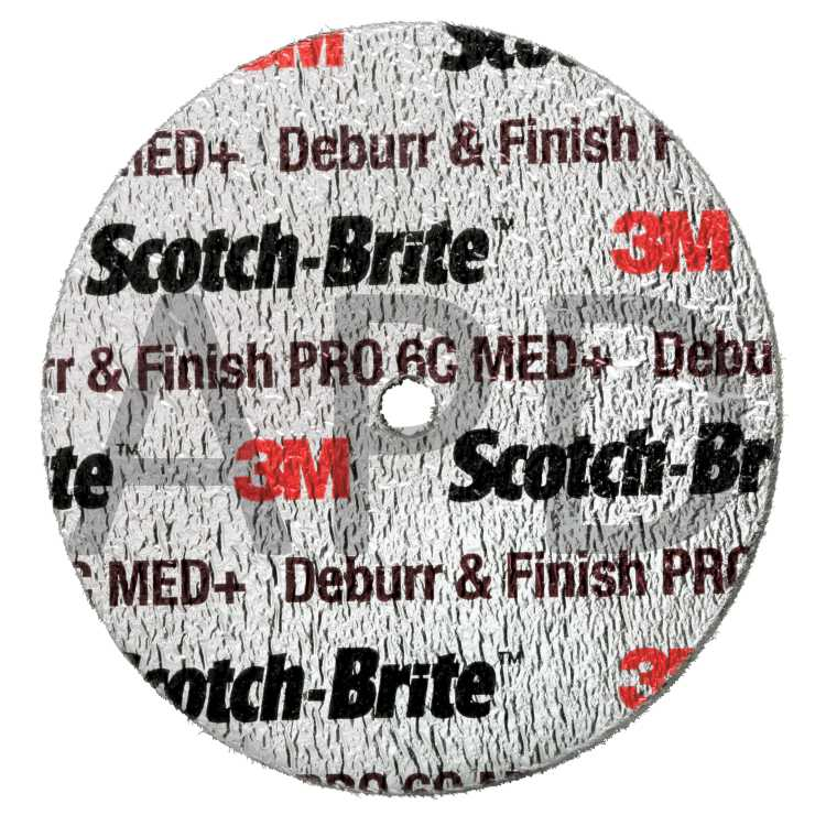 Scotch-Brite™ Multi-Finishing Wheel 6 in x 2 in x 1 in 2S CRS