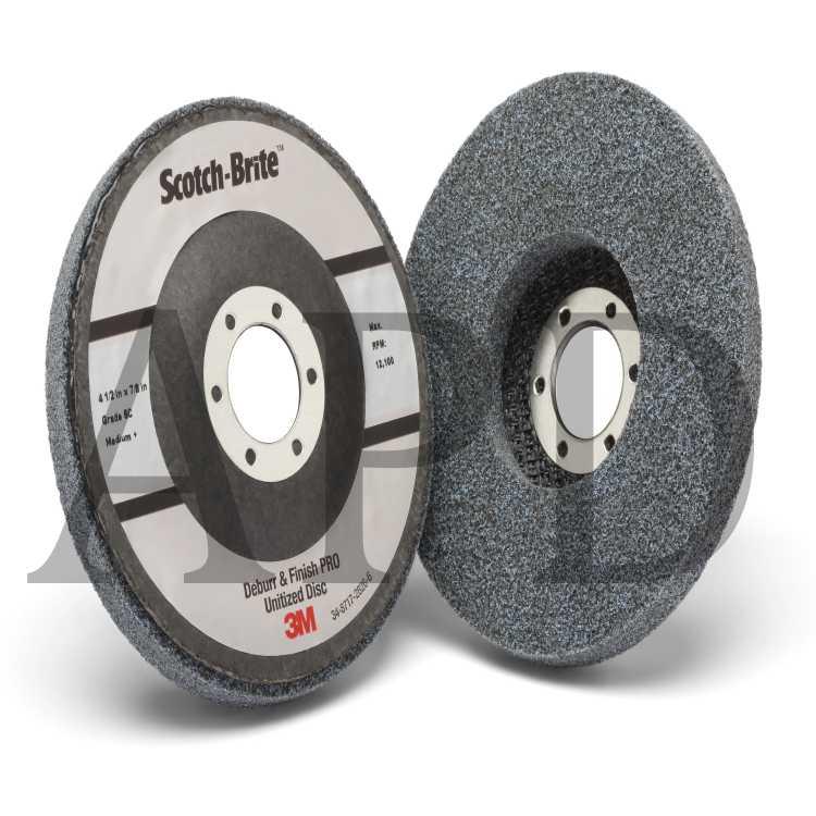 3M 7000045941 Scotch-Brite Cut and Polish Disc D5, 3 in x 1-1/4 in x