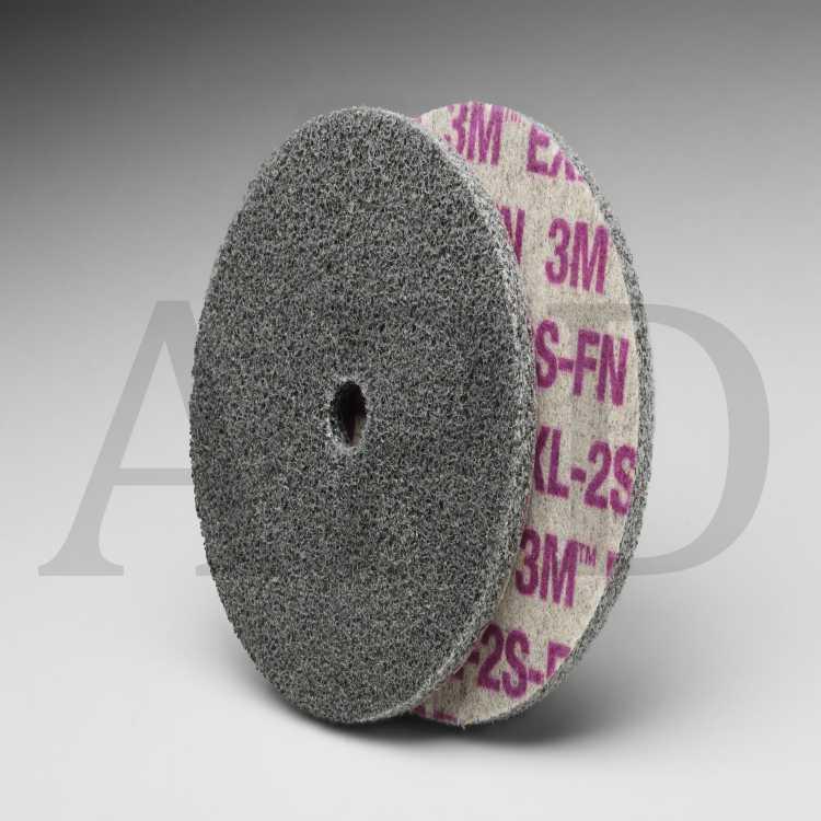 20 per case 3 in x 1//2 in x 1//4 in 2S FIN Scotch-Brite EXL Unitized Wheel