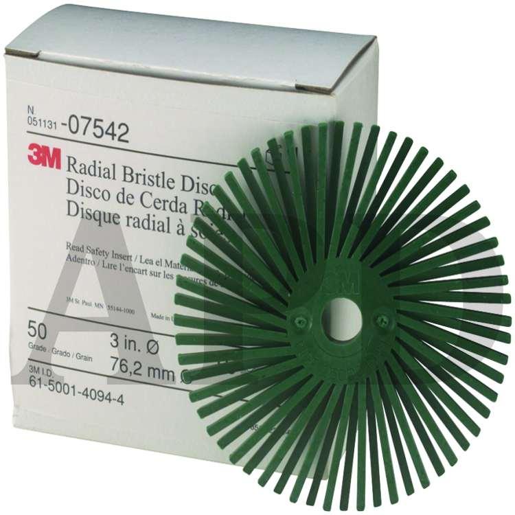 Scotch-Brite™ Roloc™ Radial Bristle Disc 3 in 50