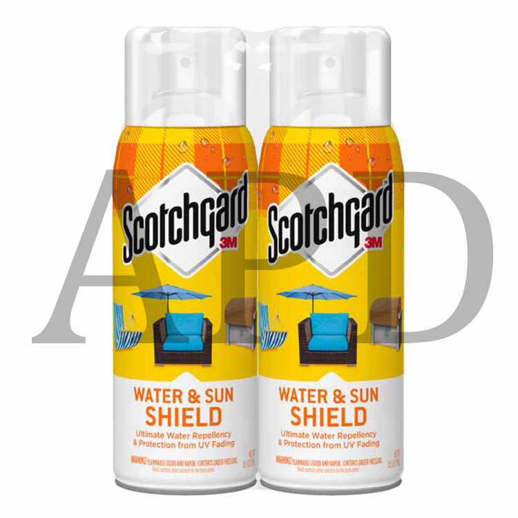 Scotchgard Water Sun Shield With Uv Protector 2 Pack 5019 10uv 2pk 10 5 Oz 297 G 6 2